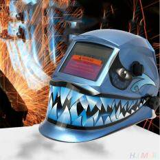 Blue Shark Pro Solar Auto Darkening Welding Helmet Welder Grinding Mask