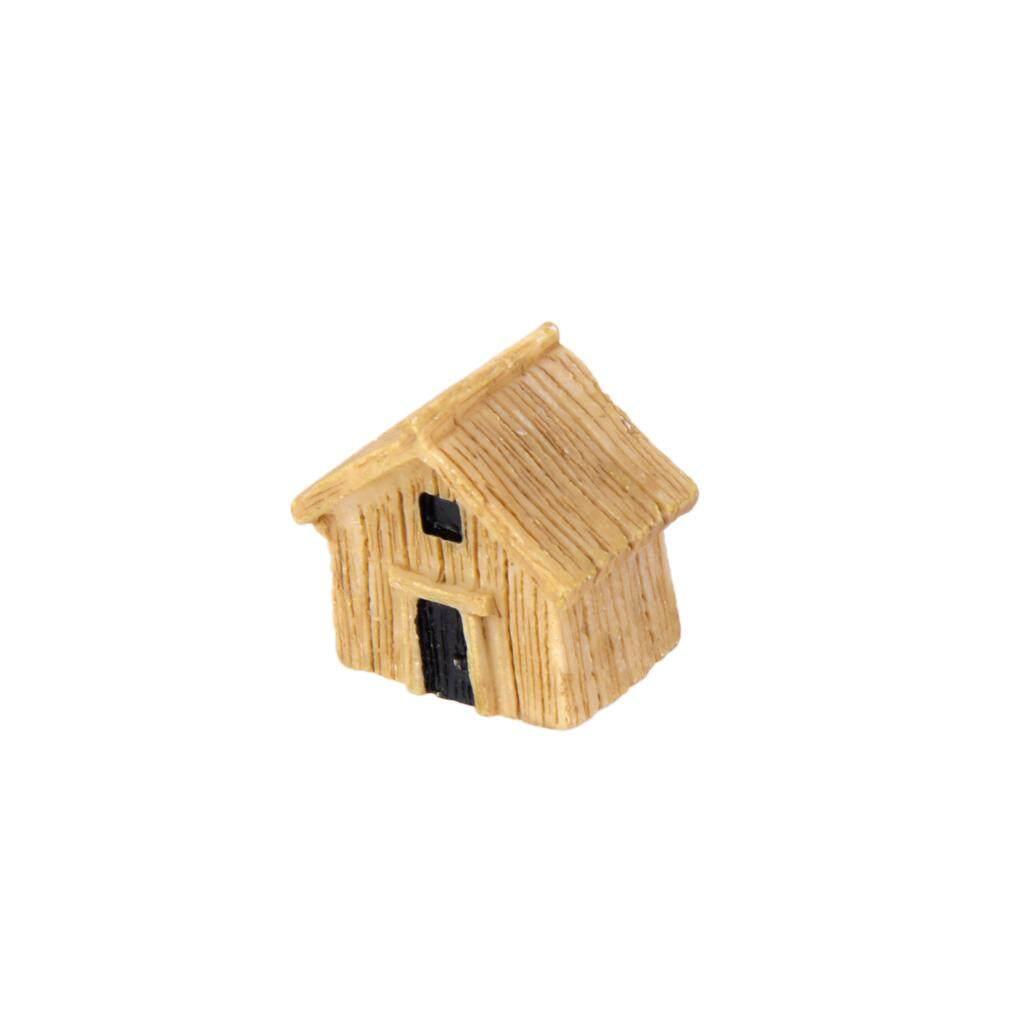 Bolehdeals Miniatur Rumah Kayu Rumah Boneka Lanskap Bonsai Kerajinan DIY Taman Dekorasi-Internasional