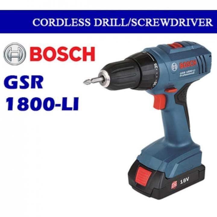 bosch gsr 180 solo cordless 18v battery and charger is not include lazada. Black Bedroom Furniture Sets. Home Design Ideas