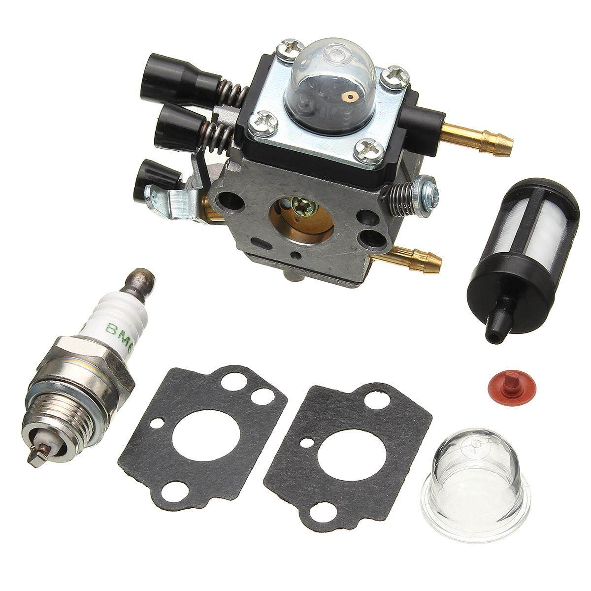 Carburetor+Filter Kit For BG45 BG46 BG55 BG65 BG85 SH55 SH85 Leaf Carb CaBlower - intl
