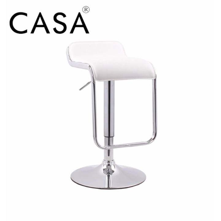 Swivel Counter Stool Bar Stool High Chair Black Kitchen: Cassa Moway Square Seat Design Swivel Bar Stool Chair