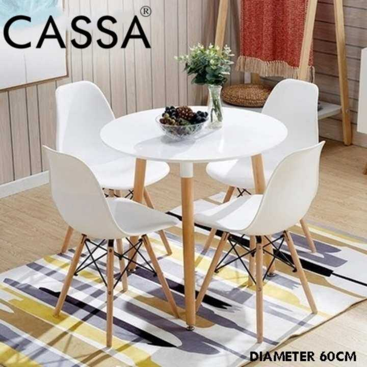 Office Kitchen Tables: Cassa Eames Kitchen Dining Table Carpenter Round Coffee