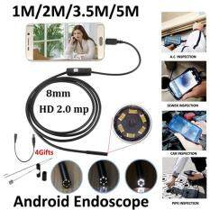 Catree-1m 8mm Android OTG Phone 2MP Endoscope Waterproof LED Borescope USB Camera