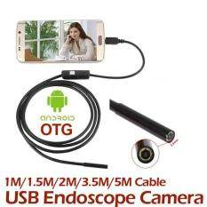 Catree-3.5M 7MM IP67 Android Endoscope Inspection USB Borescope LED Tube Video Camera