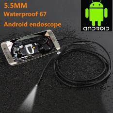 Catree-5.5mm 1M 1.3MP Android OTG Phone Endoscope IP67 Tube LED Camera video