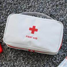 Catree-Empty First Aid Kit Pouch Office Medical Emergency Travel Rescue Case Bag
