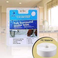 Caulk Strip, Oumers PE Strong Self Adhesive 1-1/2x17Caulk Sealer Best for Fixture Wall Bathtub Corner Kitchen Bathroom Shower Sink
