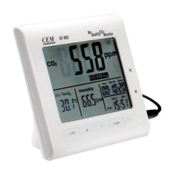 CEM DT-802 0-9999ppm Multifunction Air Quality CO2 Monitor Meter - intl