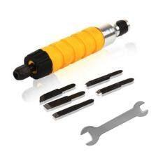 Electric Pahat ukir alat kayu ukiran mesin Woodworking kecil Spanner kuning