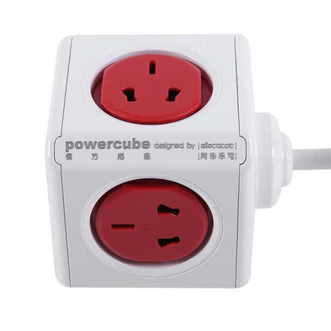 CHEER For Allocacoc Powercube Power Socket Adapter Eu/Us Plug Smart Home .