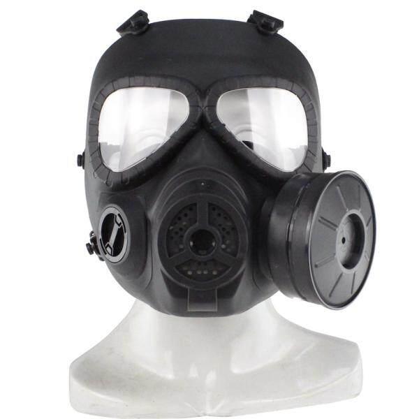 Trưởng M04 Mặt Nạ Phòng Độc CS Lĩnh Vực Chiến Thuật Mặt Nạ Ống Kính Chống Sương Mù Xả Thiết Bị Đen