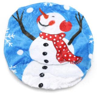 Bọc Ghế Bồn Cầu Người Tuyết Giáng Sinh, Xmas Trang Trí, Phòng Tắm Nhà Vệ Sinh Trang Trí Chi Nhánh Người Tuyết thumbnail