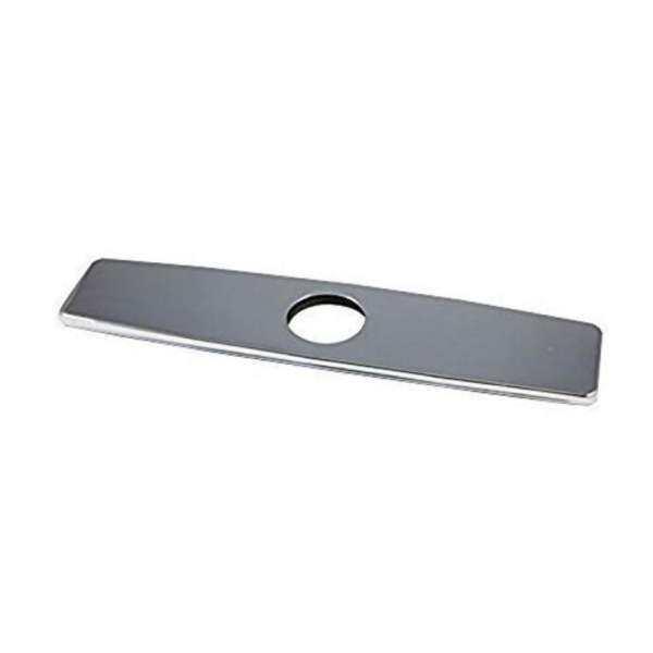 店名 Chrome 10&Quot; Kitchen Sink Faucet Hole Cover Deck Plate Escutcheon