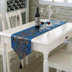 Classic Modern Cotton Linen Table Table Runner Color 3 Size 33 210Cm Lower Price
