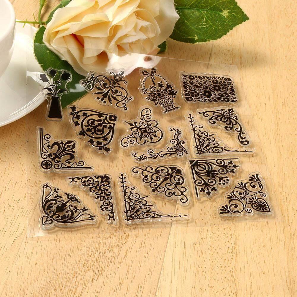 Cocol Max Silikon Butterfly Bunga Embossing Folder Kartu Template Scrapbooking Dekorasi-Intl