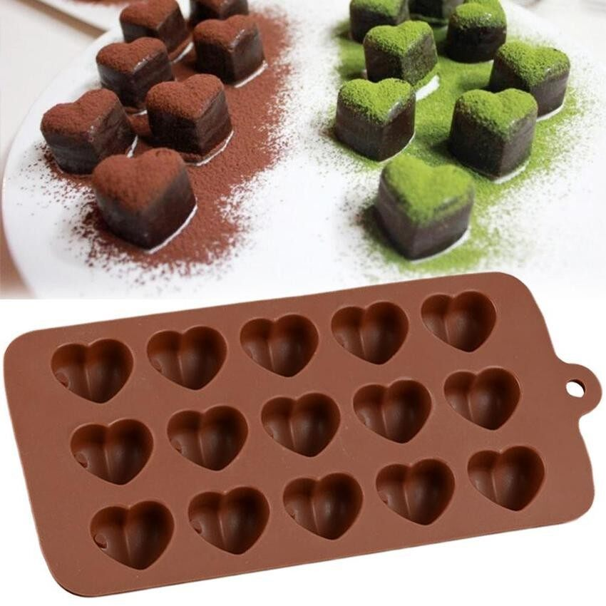 Cocotina Baking Mold Silicone Cake Heart Pan Mould Chocolate Cupcake Muffin Bakeware Cook