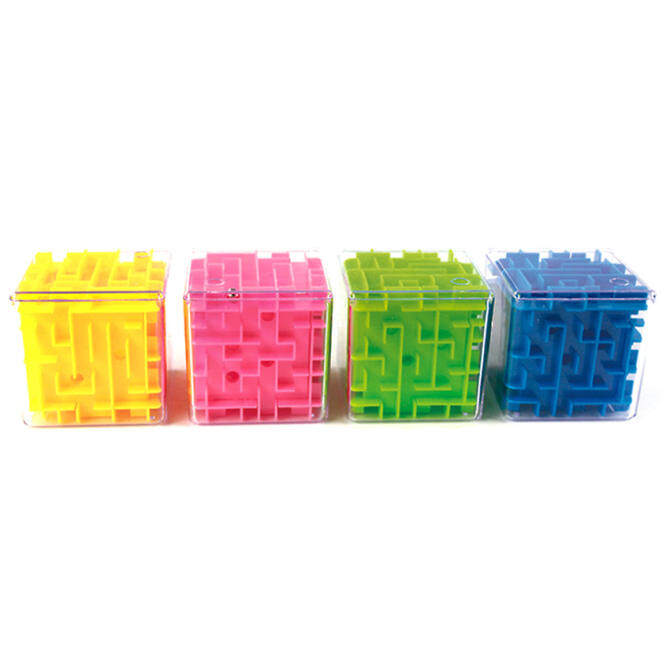 Cocotina Money Maze Coin Bank 3D Puzzle Box Gift Holder Prize Storage -