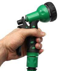 Coiled Wash Down Hose with Nozzle