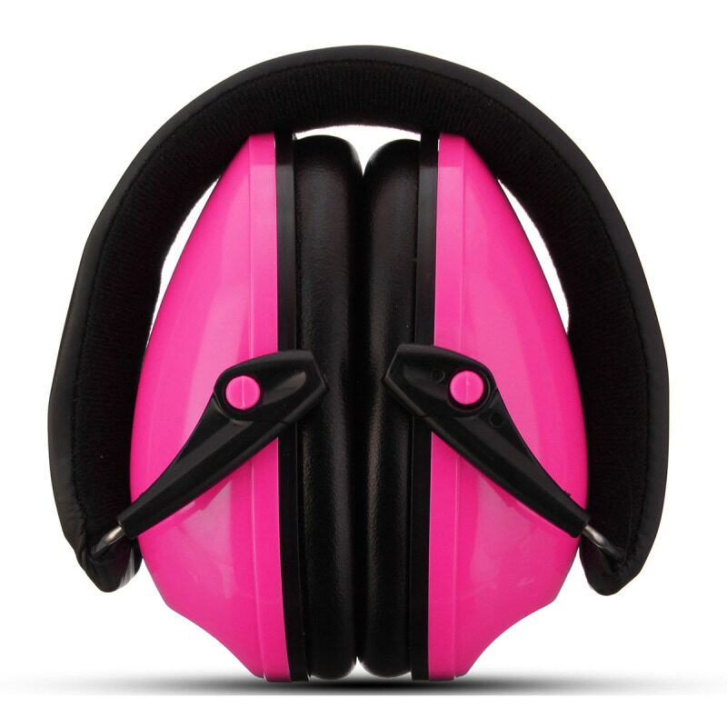 Comfortable Ear Protector Anti-noise Hearing Protection Earmuffs Headset Soundproof Ear muff--(NOT Electronic) Pink NEW