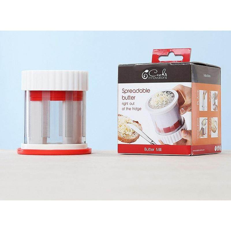 Cookit Easy Butter Former Slice Stainless Steel Grater And Cutter - Intl By Threegold.