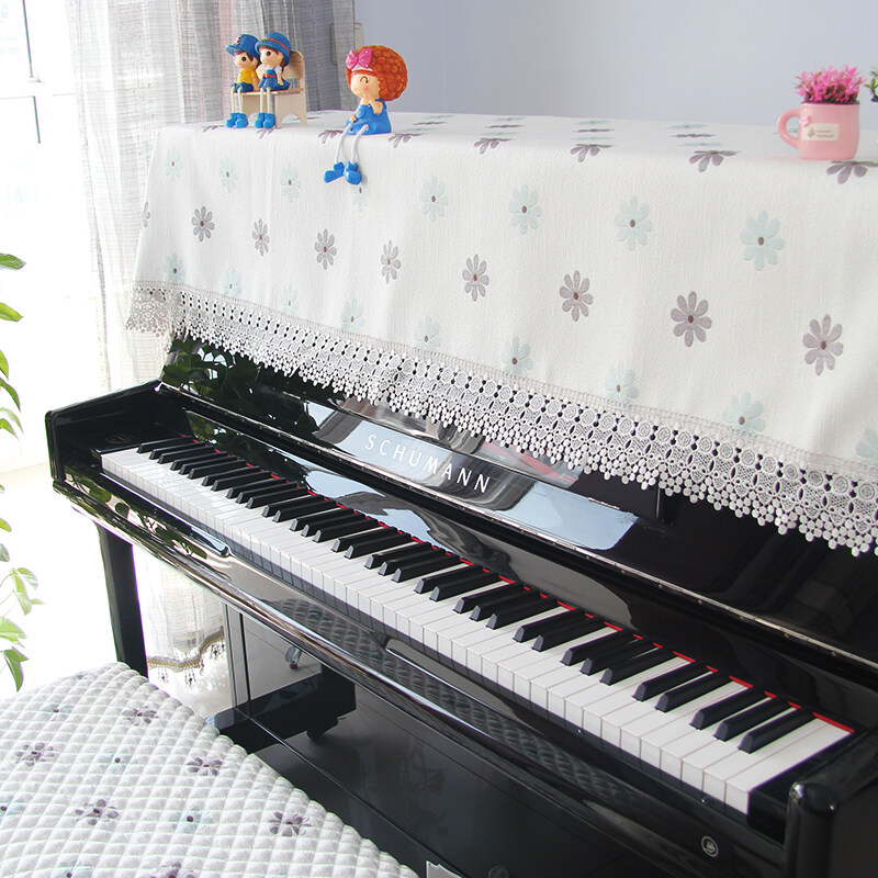 American-style Embroidered Dust Cover for Piano Malaysia