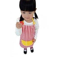 Crb Toddler Little Girls Boys Baking Bakeware Cute Chef Baking Top Apron With Pocket