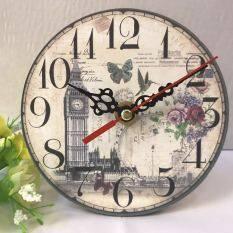 Creative Clock European Retro Wall Clock Quartz Clock(big Ben) By Future City Shop.