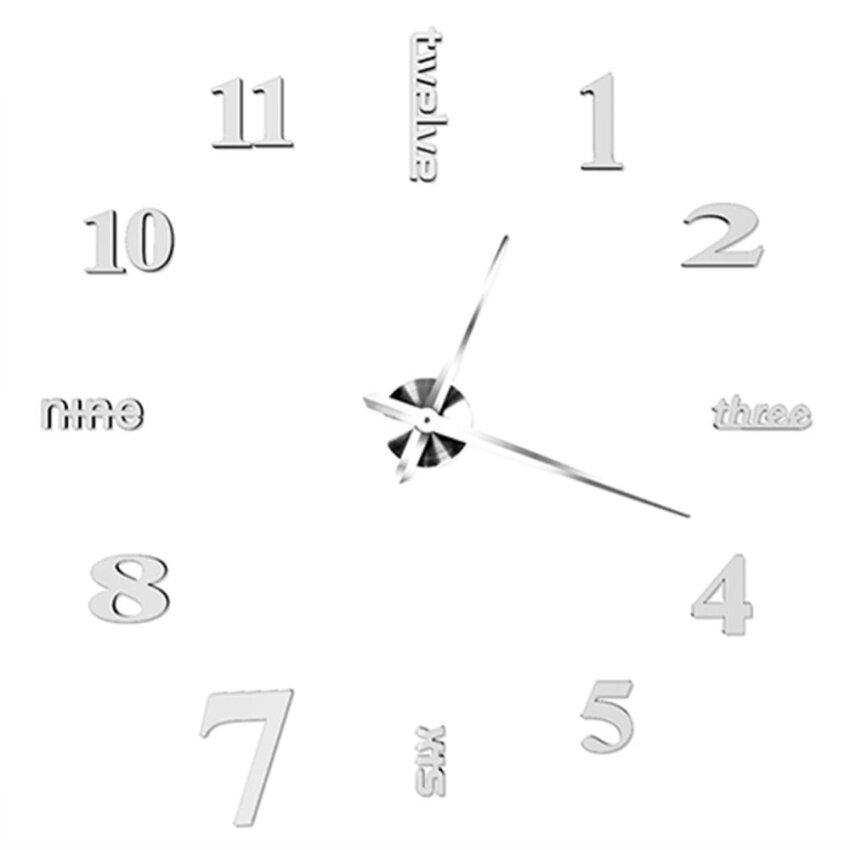 Creative DIY Jam Dinding Kamar Tidur Luar Biasa Jam Dinding Modernpersonality Seni-Internasional