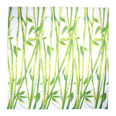 Creative Shower Curtain Fabric Waterproof Shower Curtain Bathroom Polyester 12 Hooks 5 Bamboo 180x200cm By Epayst.