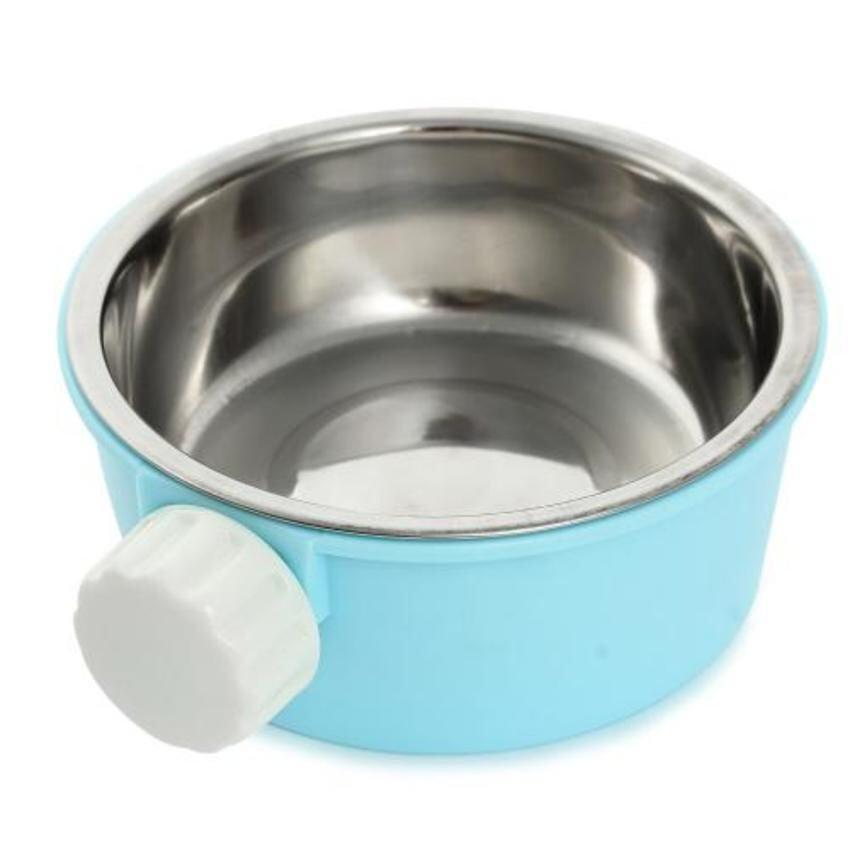 CTO 2-in-1 Feeding Bowl for Hamster (Blue) - intl