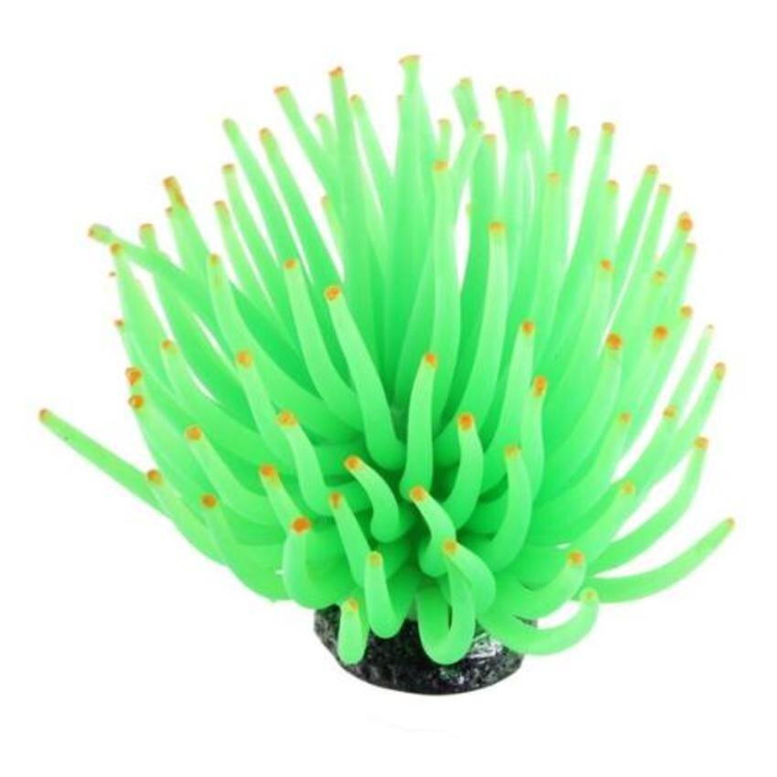 CTO Aquarium Artificial Sea Urchin Coral Ornament Green - intl