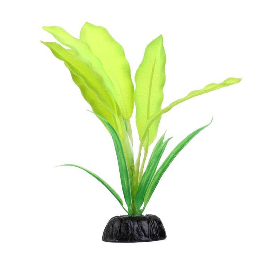 CTO Plastic Aquarium Plant Fish Tank Grass Ornament Decoration Green - intl