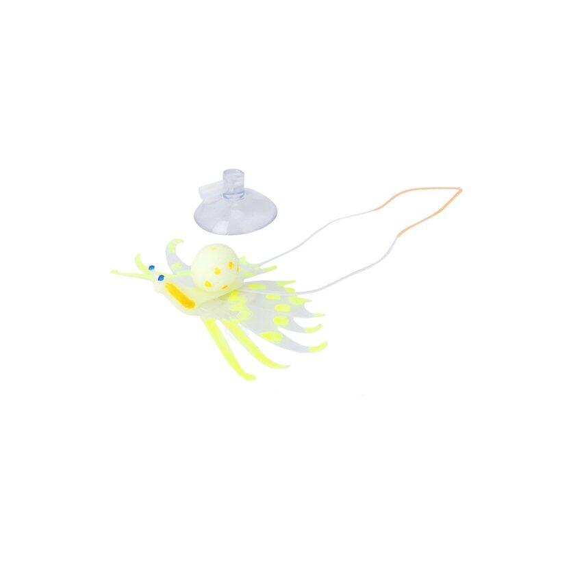 CTO Silicone Ornament Fish - Yellow - intl