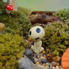 Jettingbuy Cute Alien Mini Crafts Garden Miniature Diy Doll House/ Terrarium/ Home Desktop/ Succulents/ Bottles /micro Landscape Decoration D (sit Smiling) By Jettingbuy.