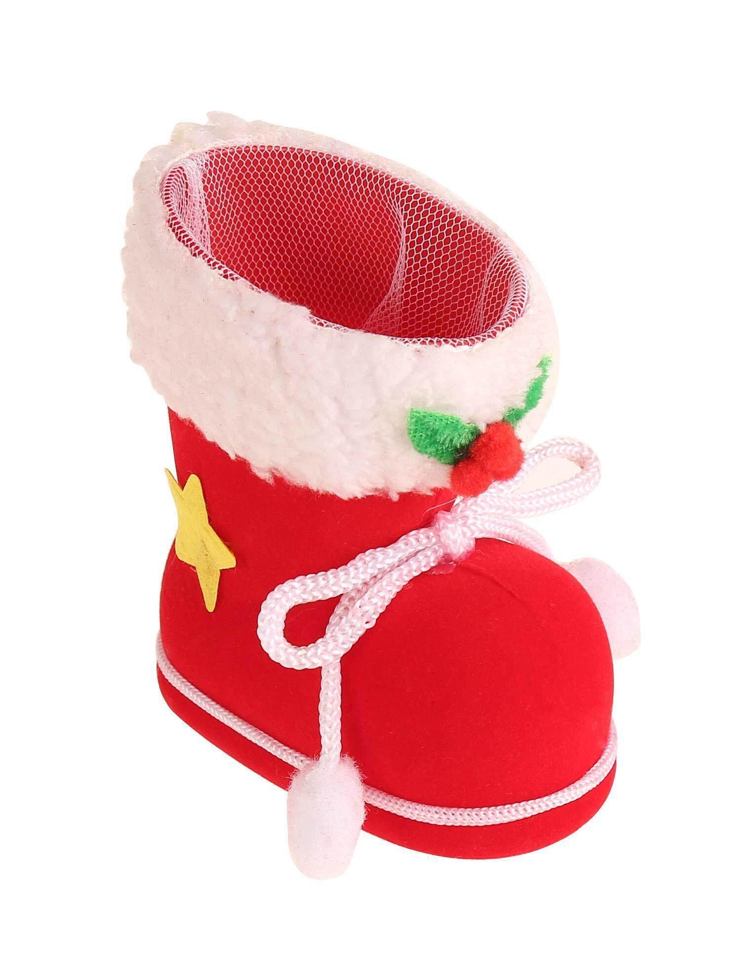 [Dijual Di Rincian Harga] Cyber Diskon Besar Sepatu Bot Permen Kumpulan Kaos Kaki Hadiah Natal Pohon Natal Tas Dekorasi Ruangan Anak-anak Santa Baru (1) -Intl