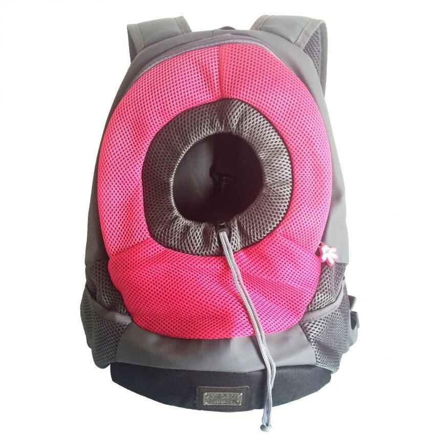 Atime Dog Cat Pet Carrier Bag Portable Outdoor Travel Backpack(rose,m) By Atime.