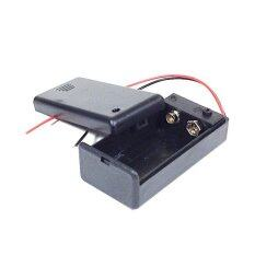 Dc 9v Battery Holder + On/off Switch + Cover By Autobotic Sdn Bhd.