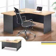 L-SHAPE OFFICE TABLE OFFICE DESK OFFICE MEETING TABLE DISCUSSION TABLE  WRITING TABLE STUDY TABLE DIRECTOR TABLE BOSS TABLE CLERK TABLE STAFF TABLE