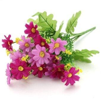 ... Dekorasi Berwarna Merah Muda. Source · DHS 28 PCS 1 Buket Cineraria  Palsu Bunga Rumah Buatan Hiasan Dekorasi Pengantin Pernikahan (Ungu 31712ca127