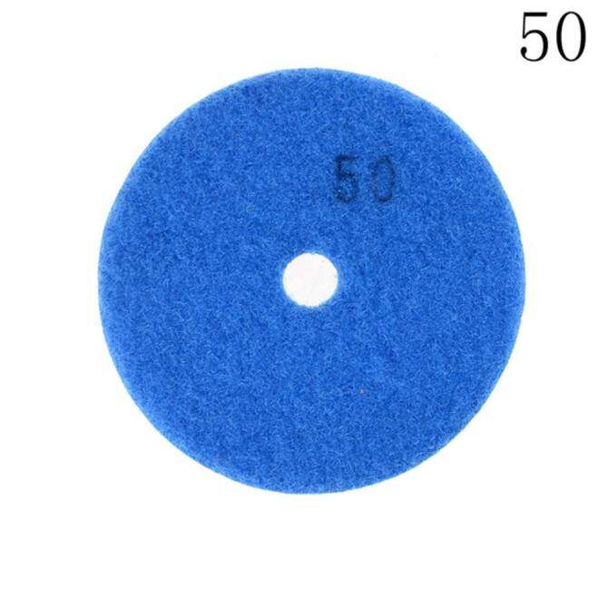 Diamond Polishing Pads wet/dry Granite Marble Concrete Stone 3 inch 50#