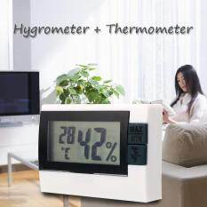 Digital Display Indoor Room Thermometer Thermo Hygrometer Max Min Meter