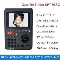 Digital Satllite Finder KPT-968G 3.5Inch TFT LED Handheld Multifunctional HD Satellite Finder&Monitor