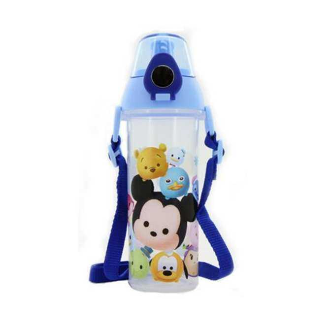 Disney Tsum Tsum 530ML Water Bottle - Blue Colour