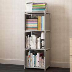 DIY Free Combination Shelf Nonwovens Floor Living Room Kitchen Bathroom Storage Rack Simple Bookcase Bookshelf Creative multilayer shelf