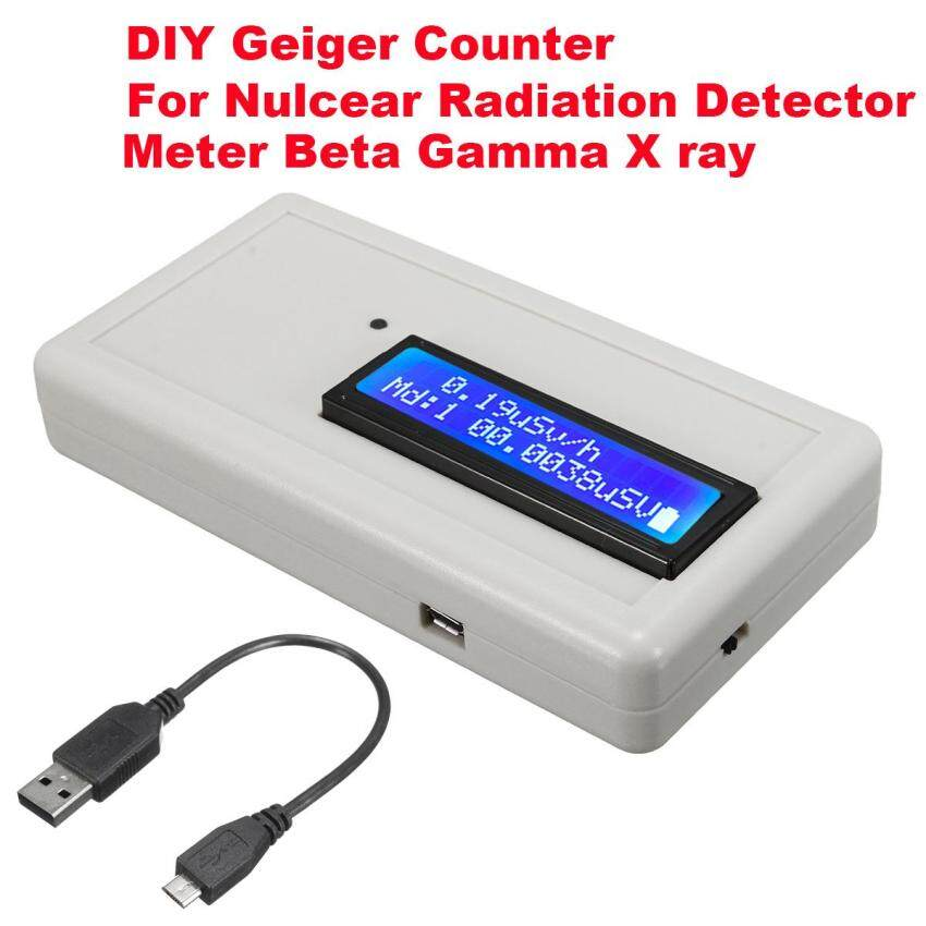 DIY Geiger Counter Radiation Detector Meter Tester For Nulcear Beta Gamma X ray - intl