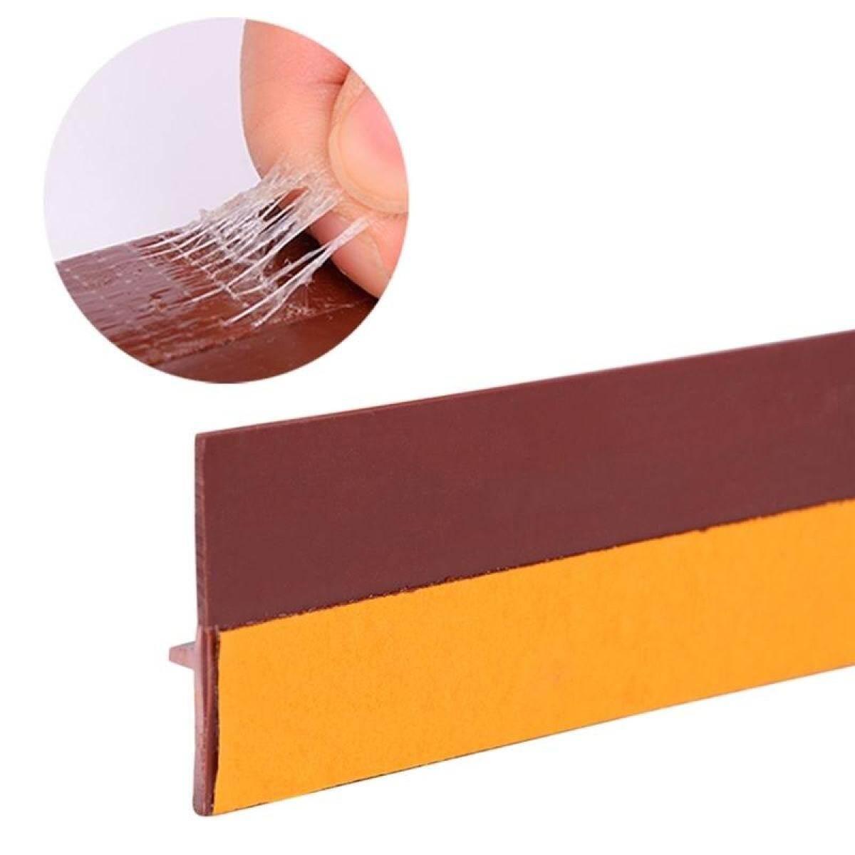 Door Weather Stripping 3.3ft Self Adhesive Wind Dust Water Proof Door Sweep Door Bottom Seal