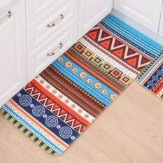 Keset Karpet Pintu Bergambar Tikar Mandi Lantai R Dapur Colorful