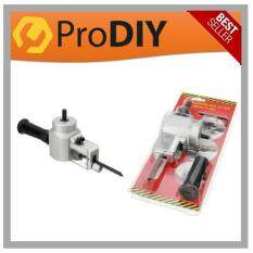 DIY Double Head Nibbler Multi Cutter Saw Wood Sheet Metal Drill Attachment Holder Tool Yt-180A