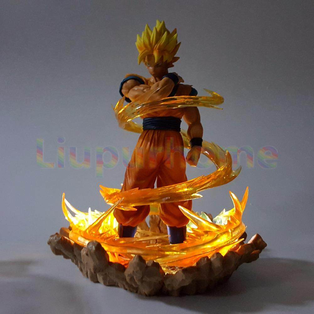 diy led night light mini led dragon ball goku with effect diy led night lights lamp anime dbz son light for sale mini prices brands review in