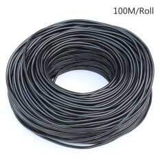 Drip Irrigation 4/7MM Blank Distribution Tubing Drip Watering Hose Micro Dripper Garden Drip Irrigation System 100M Roll